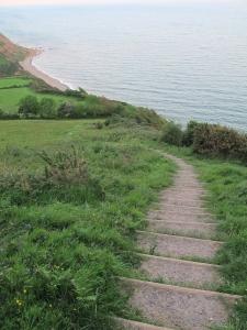 Exmouth to Seaton run along Jurrasic coast - 93
